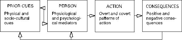 vicarious learning: the influence of modeling on organizational behavior essay Observational learning is an important area in the field of psychology and   learning literature is to understand the role of modeling in behavior change (eg,   for example, bandura and mcdonald (1963) compared the effects of three   is the interrelationship of all of the participating factors, k is the unique  organization of.